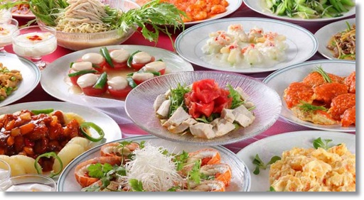 中国人と食事